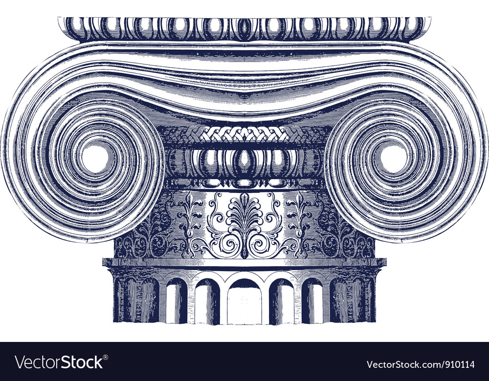 Greek column vector | Price: 1 Credit (USD $1)