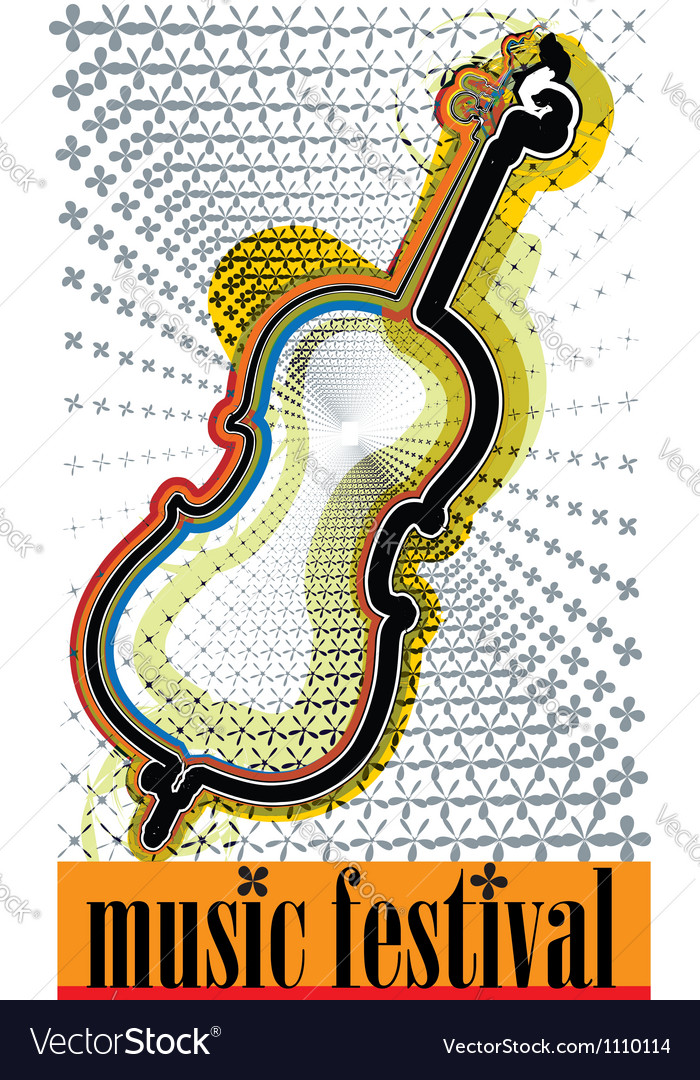 Music festival vector | Price: 1 Credit (USD $1)