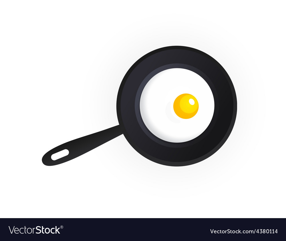 Tasty scrambled eggs vector | Price: 1 Credit (USD $1)