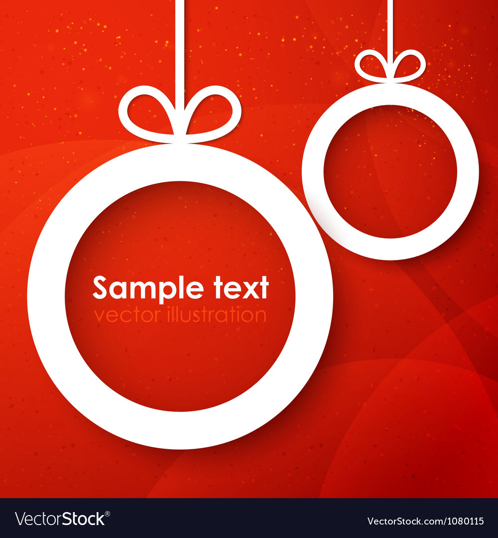 Christmas applique background vector | Price: 1 Credit (USD $1)