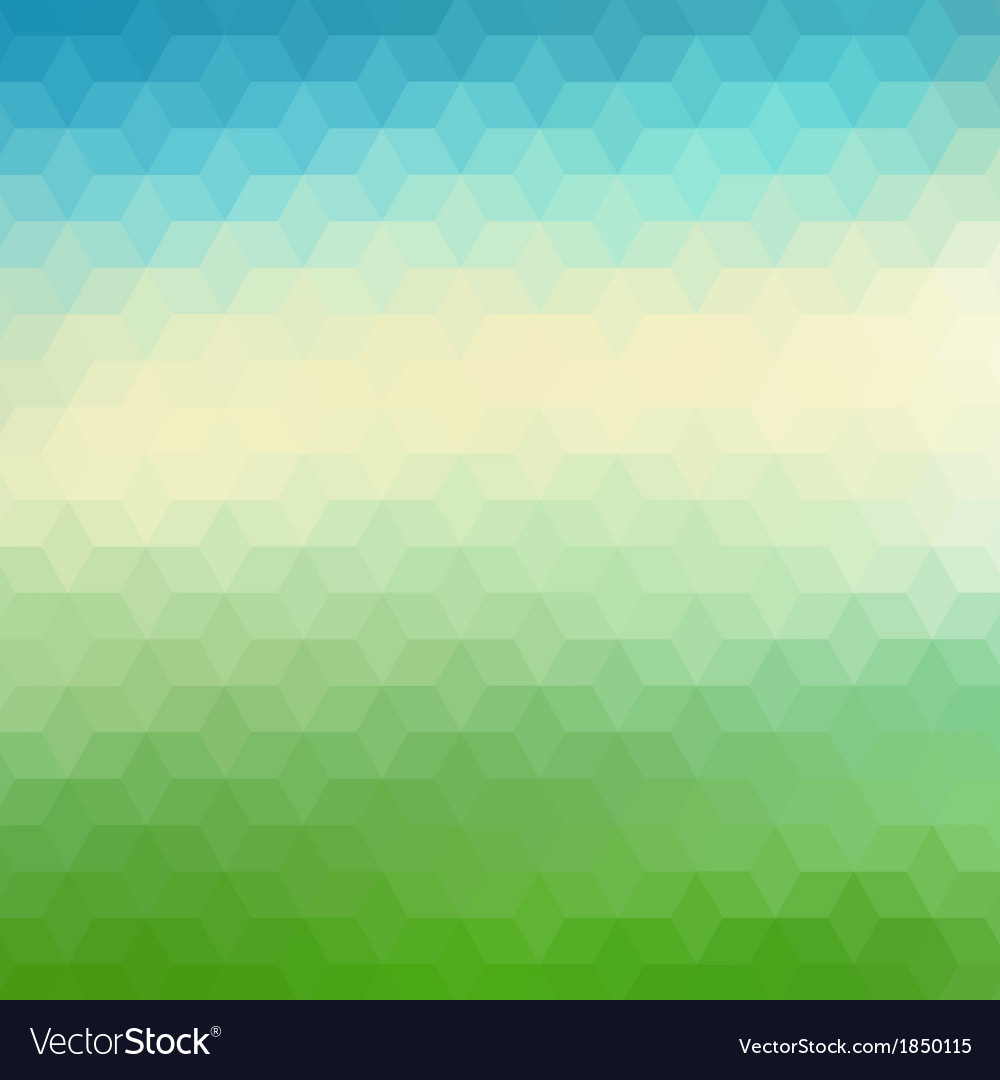 Colorful geometric background with triangles vector | Price: 1 Credit (USD $1)