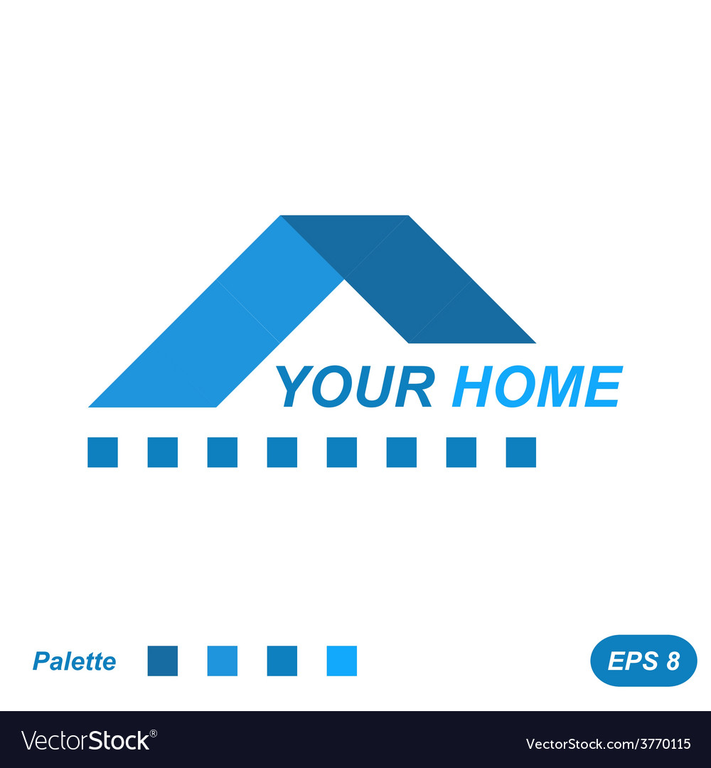 Your home logo concept vector | Price: 1 Credit (USD $1)