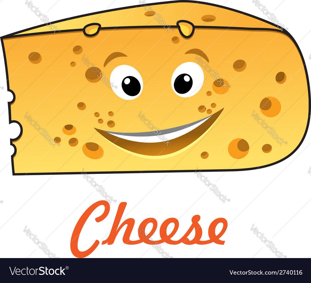 Cartoon cheese vector | Price: 1 Credit (USD $1)
