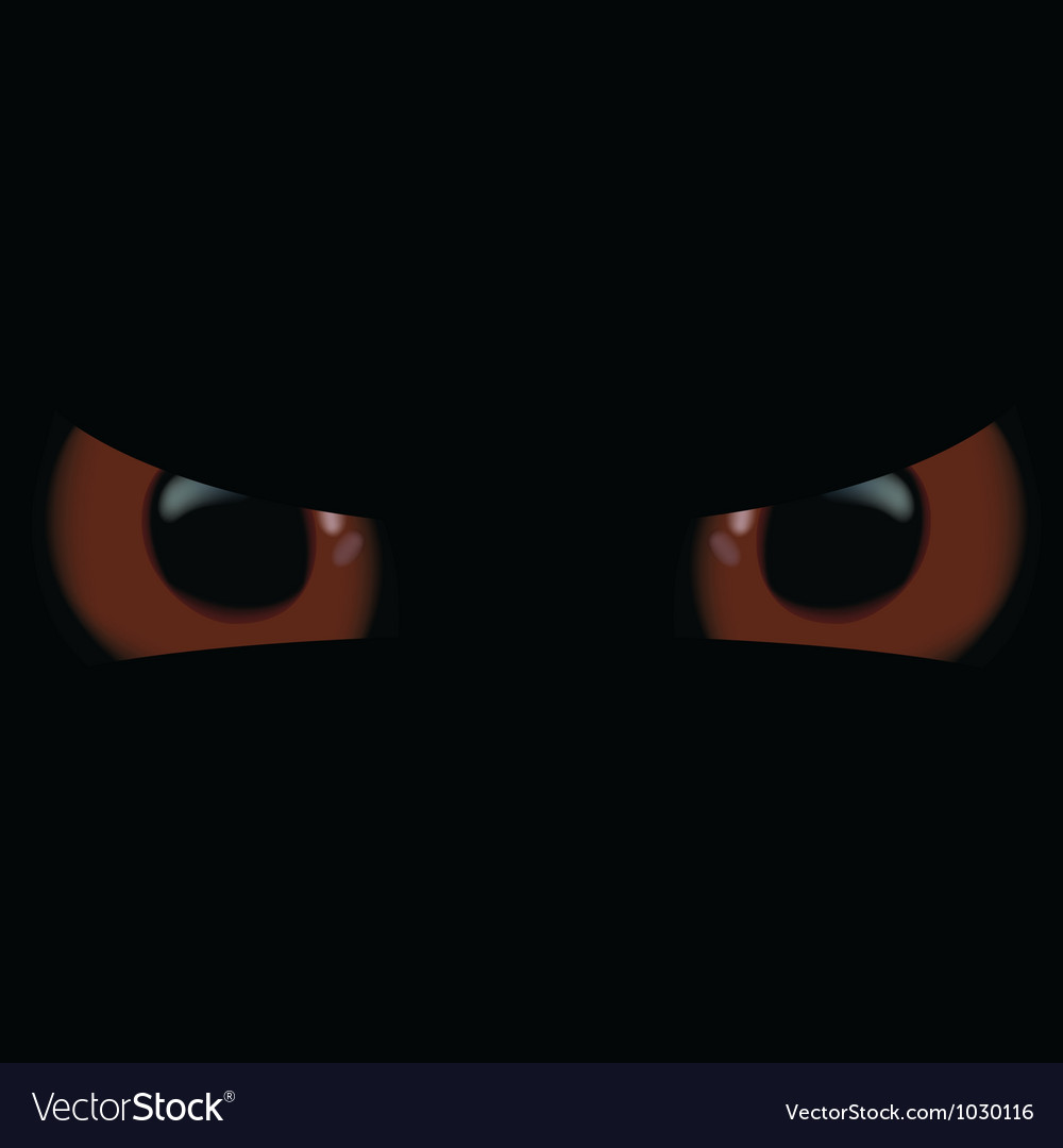 Evil eyes vector | Price: 1 Credit (USD $1)