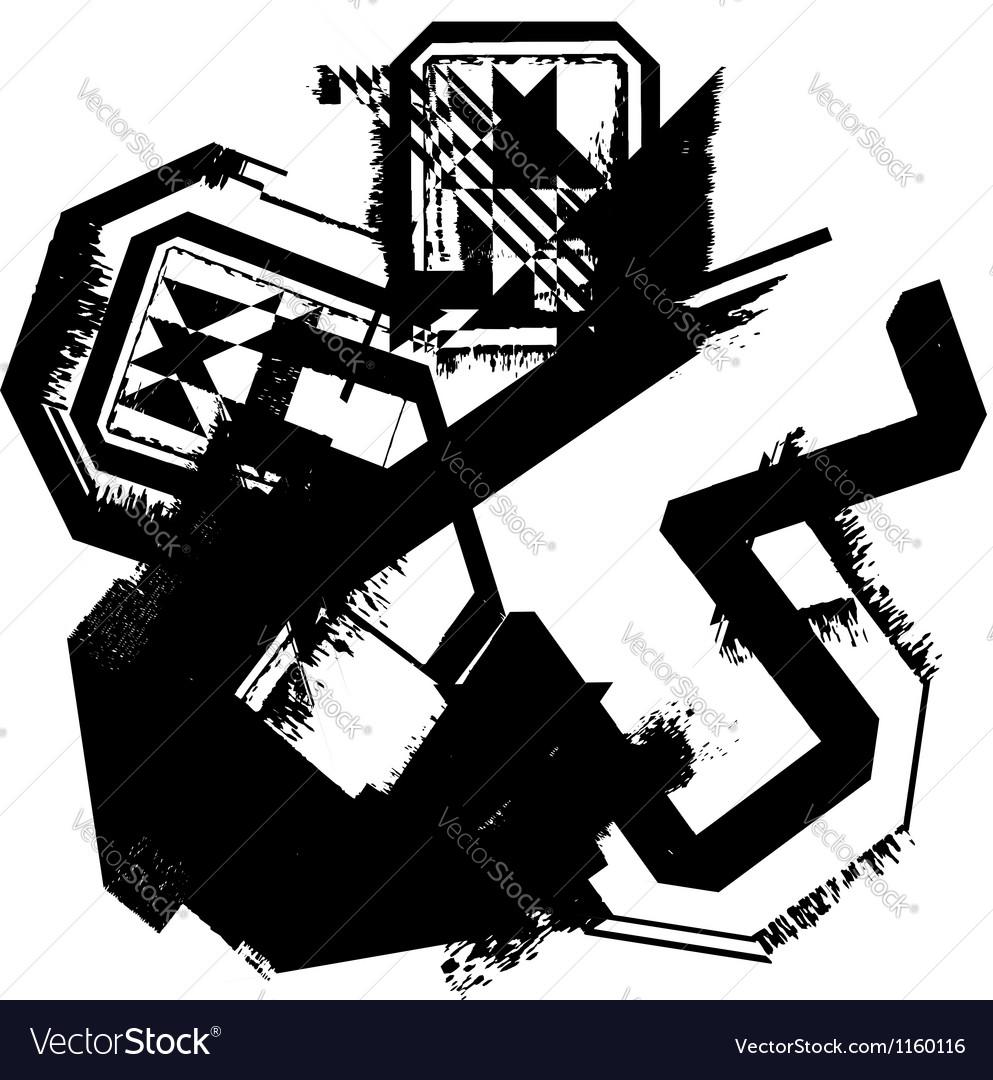 Grunge font vector   Price: 1 Credit (USD $1)