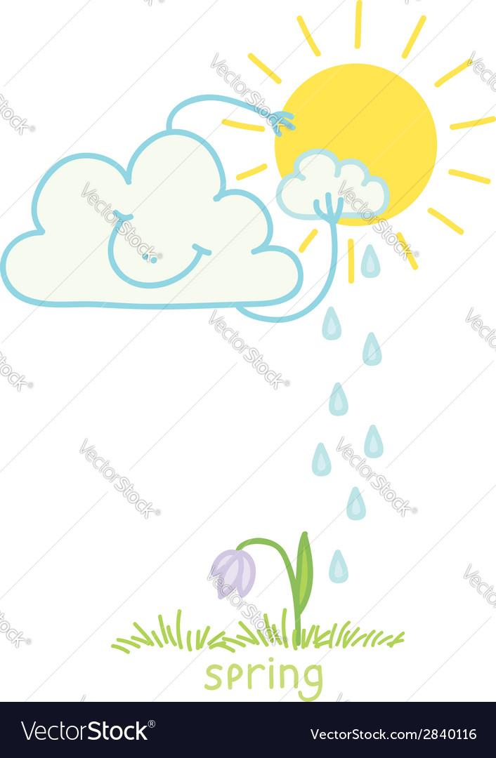 Spring vector | Price: 1 Credit (USD $1)