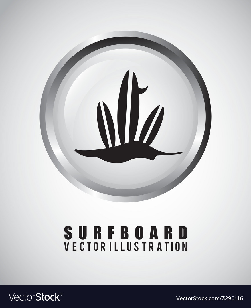 Surf design vector | Price: 1 Credit (USD $1)
