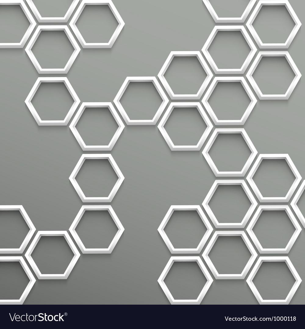 3d trendy geometric background vector | Price: 1 Credit (USD $1)