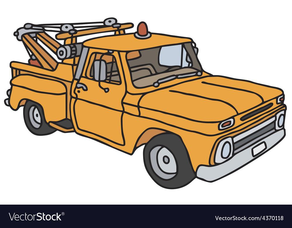Breakdown vehicle vector | Price: 1 Credit (USD $1)