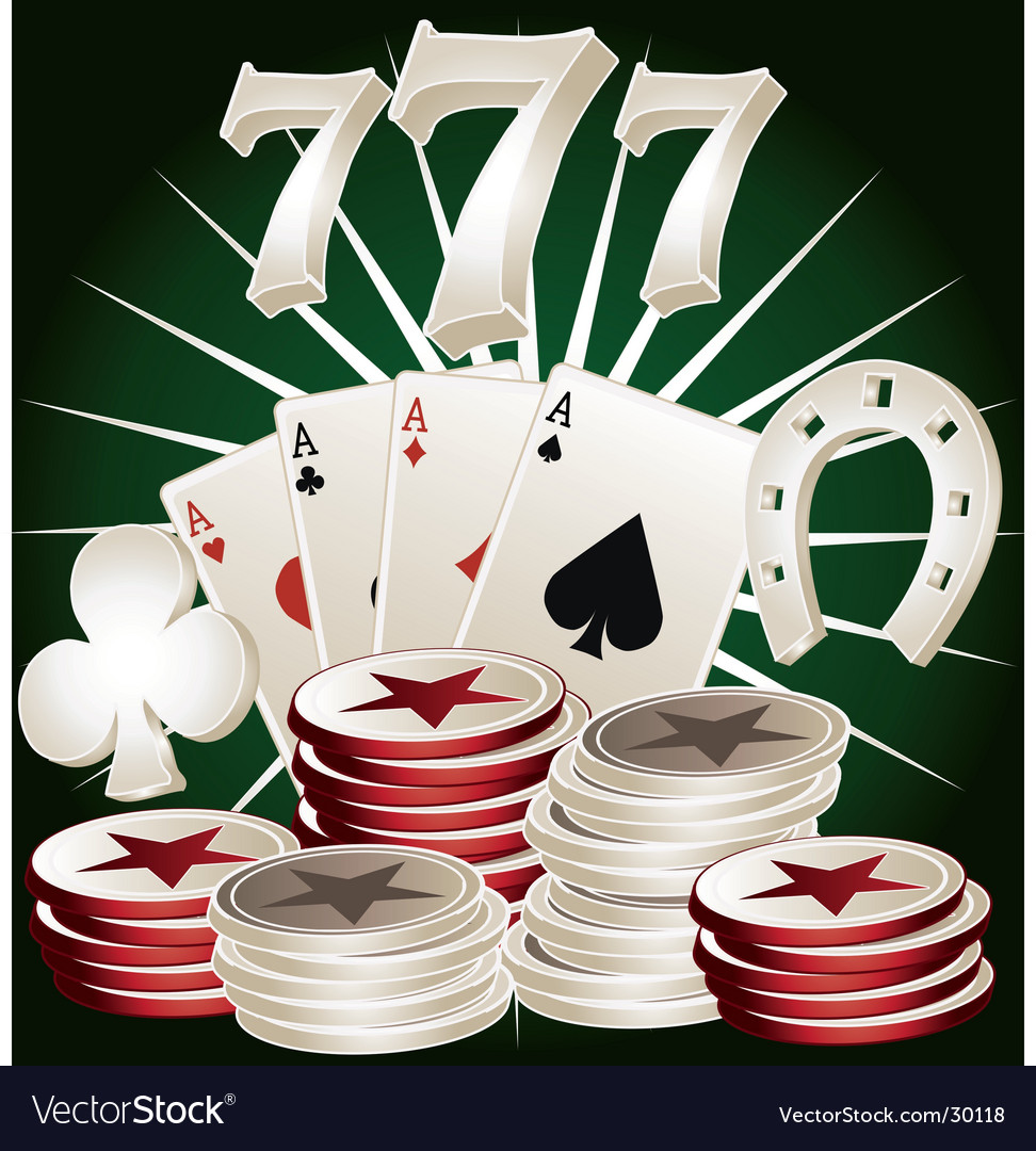 Casino poker elements vector | Price: 3 Credit (USD $3)