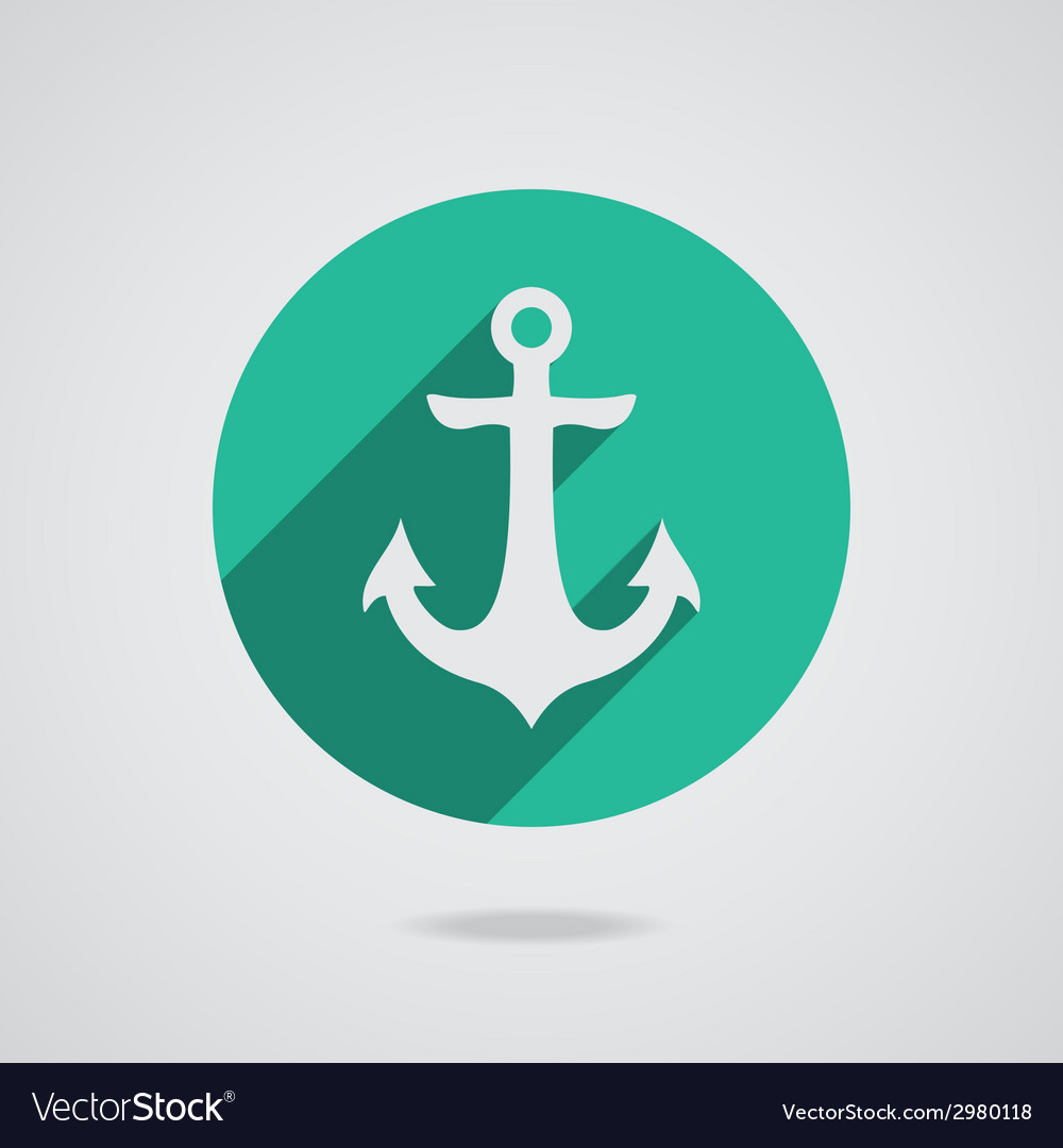 Nautical anchor vector | Price: 1 Credit (USD $1)