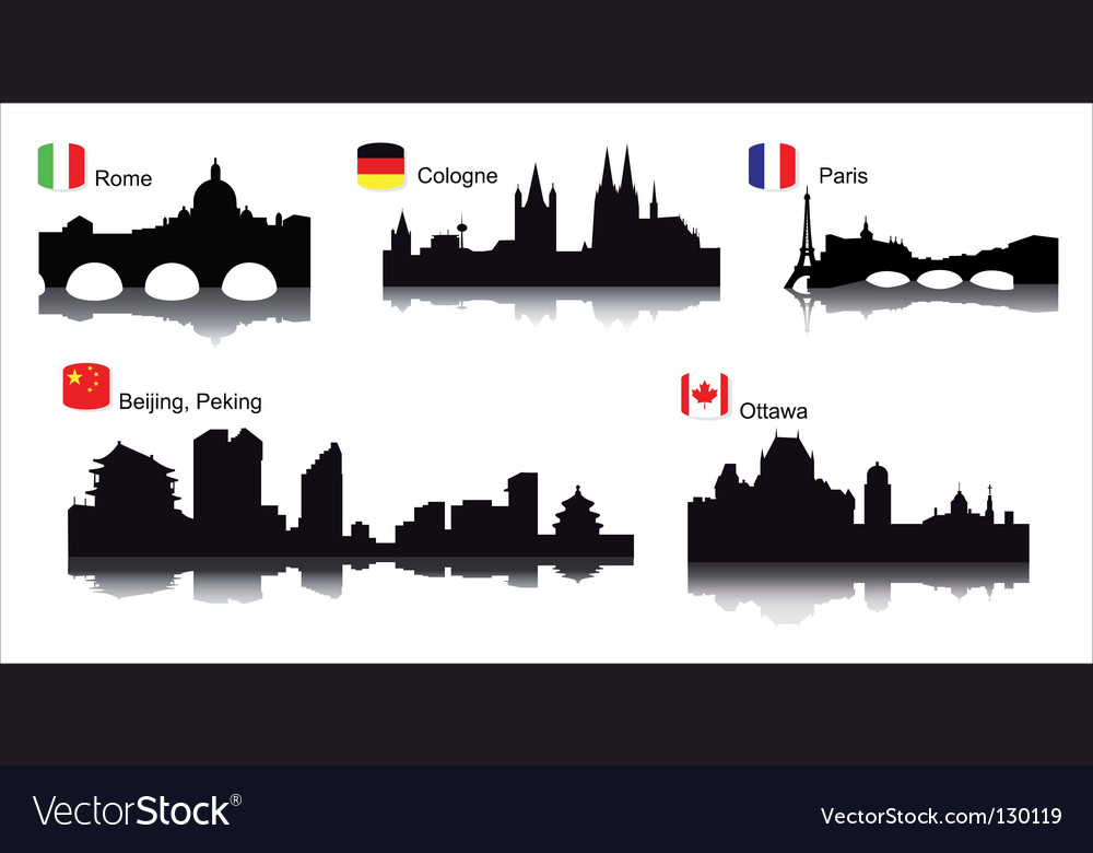 Detaileworld cities vector | Price: 1 Credit (USD $1)