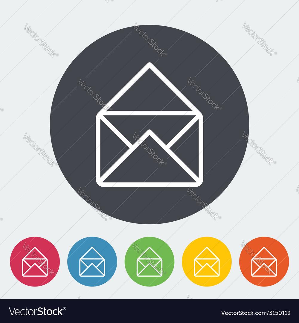 Envelope icon vector   Price: 1 Credit (USD $1)