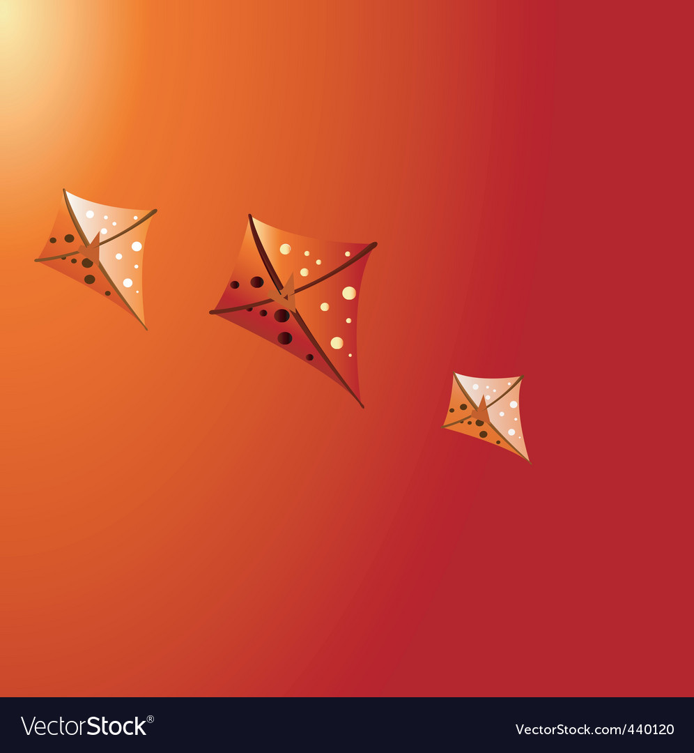 Kites vector | Price: 1 Credit (USD $1)