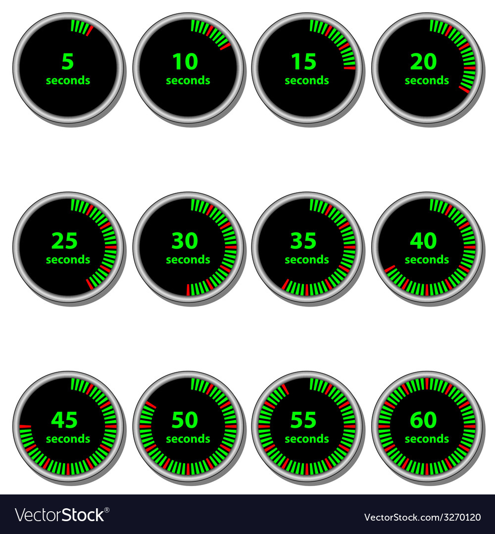 Timer vector | Price: 1 Credit (USD $1)