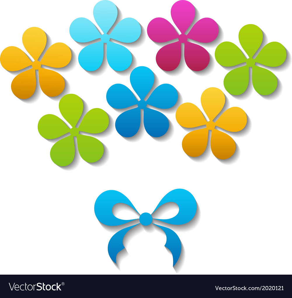 A bouquet of flowers vector | Price: 1 Credit (USD $1)