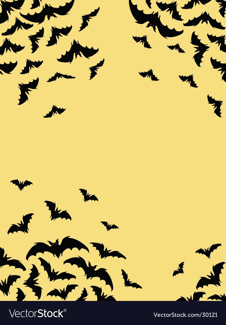 Bats card vector | Price: 1 Credit (USD $1)