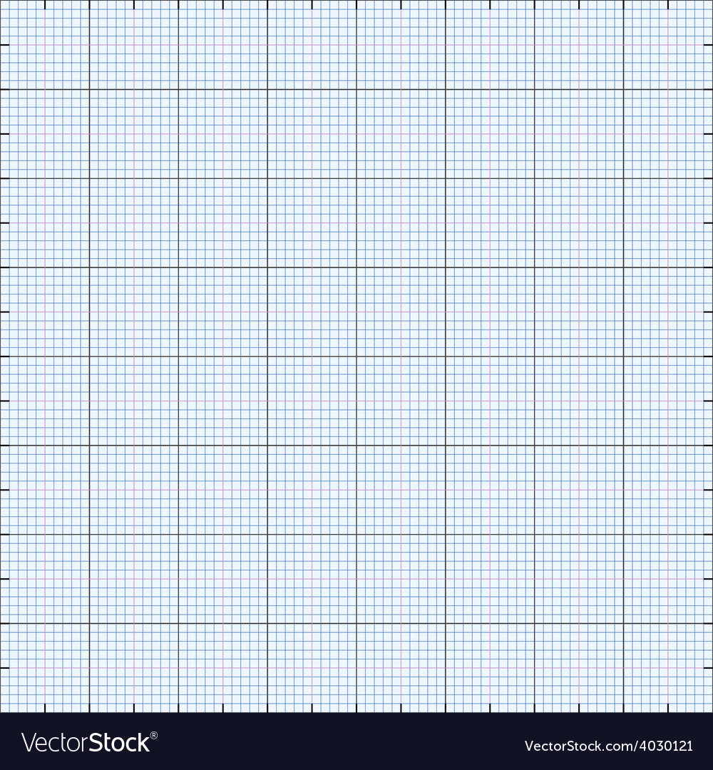 Graph paper grid background vector | Price: 1 Credit (USD $1)