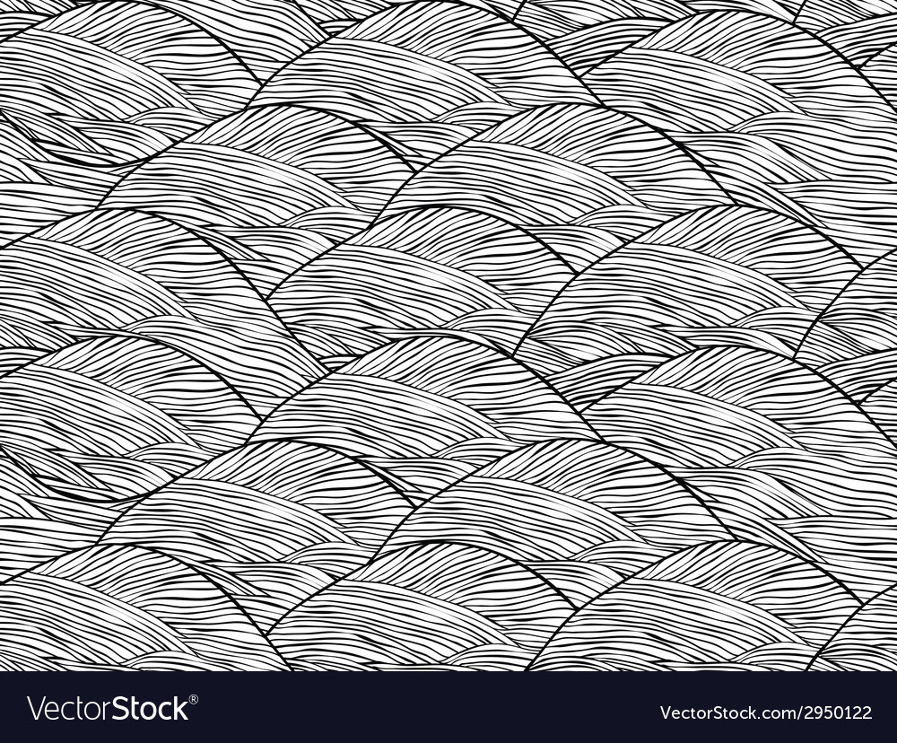 Abstract hand drawn seamless background pattern vector | Price: 1 Credit (USD $1)