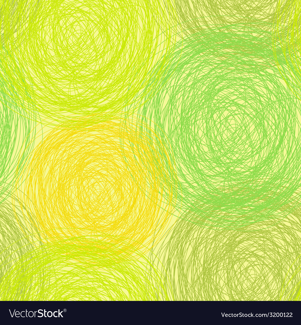 Colorful scribble seamless pattern vector | Price: 1 Credit (USD $1)