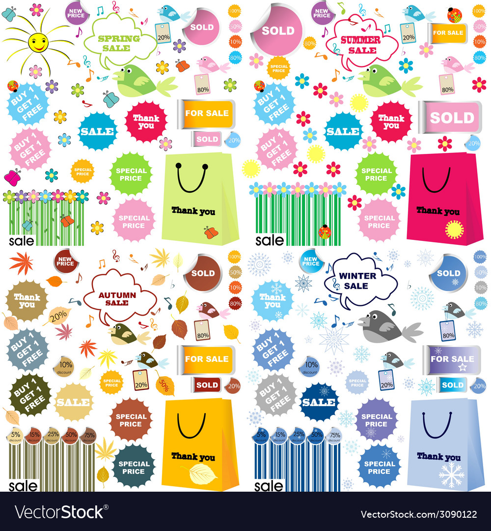 Shopping designs vector | Price: 1 Credit (USD $1)