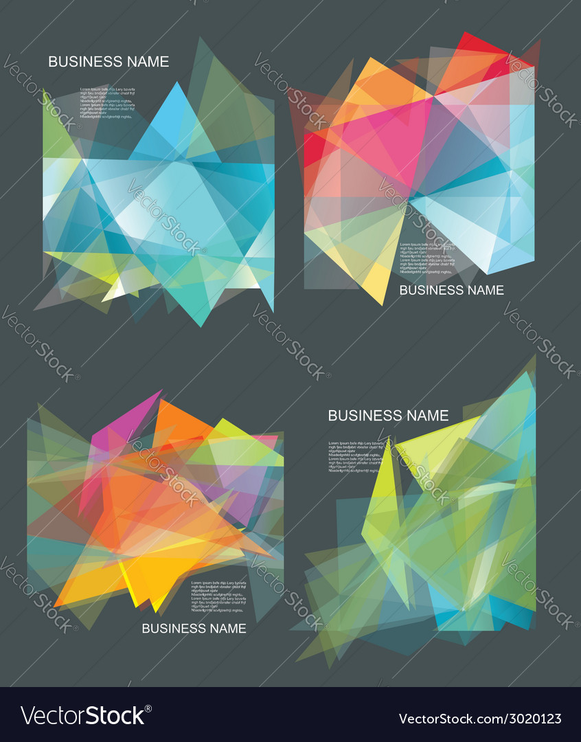 The abstract geometric 3d background vector | Price: 1 Credit (USD $1)