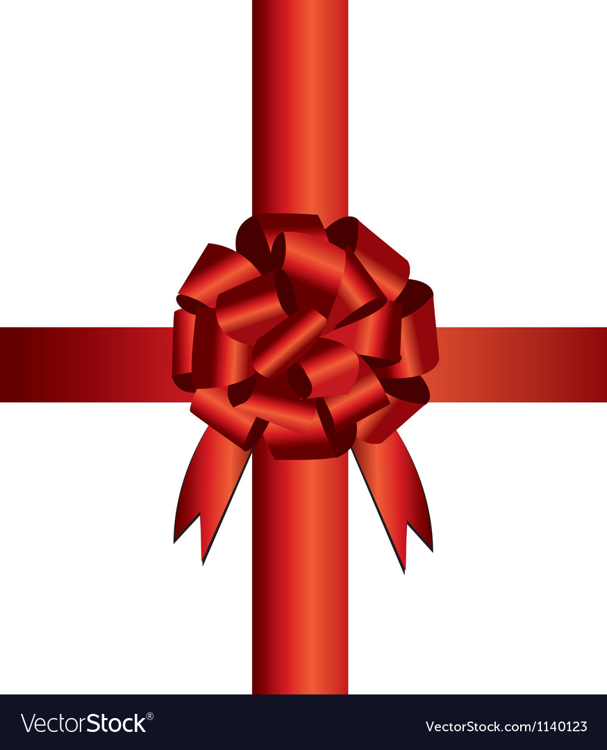 Present wrapping ribbon vector | Price: 1 Credit (USD $1)