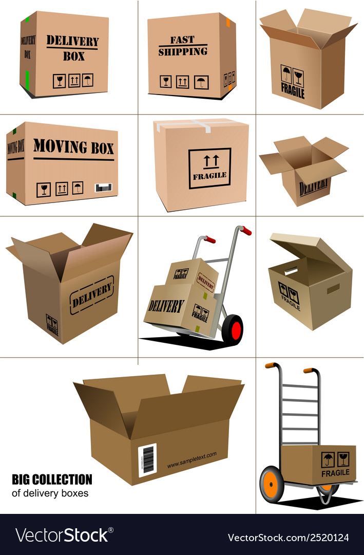 Al 0906 boxes vector | Price: 1 Credit (USD $1)