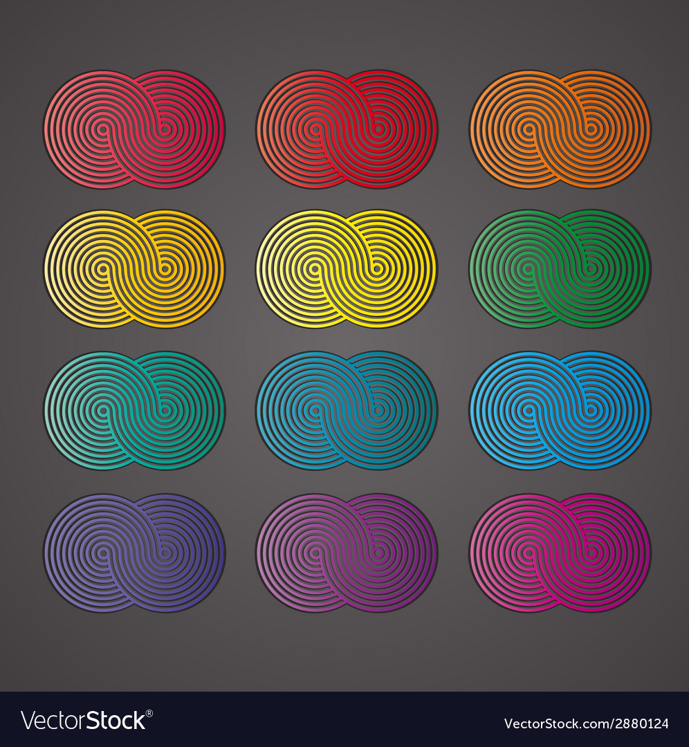Background with palette vector | Price: 1 Credit (USD $1)