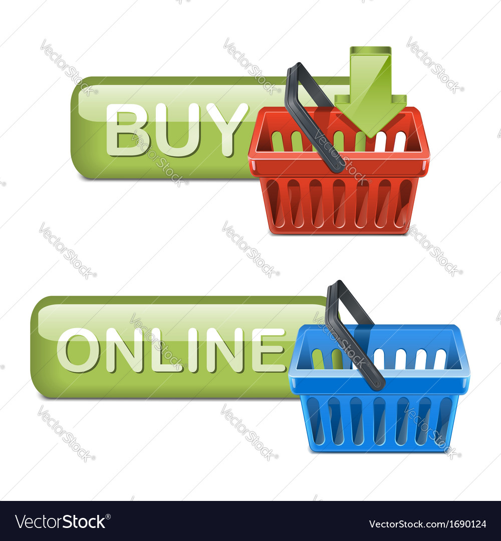 Online shopping icons vector   Price: 1 Credit (USD $1)