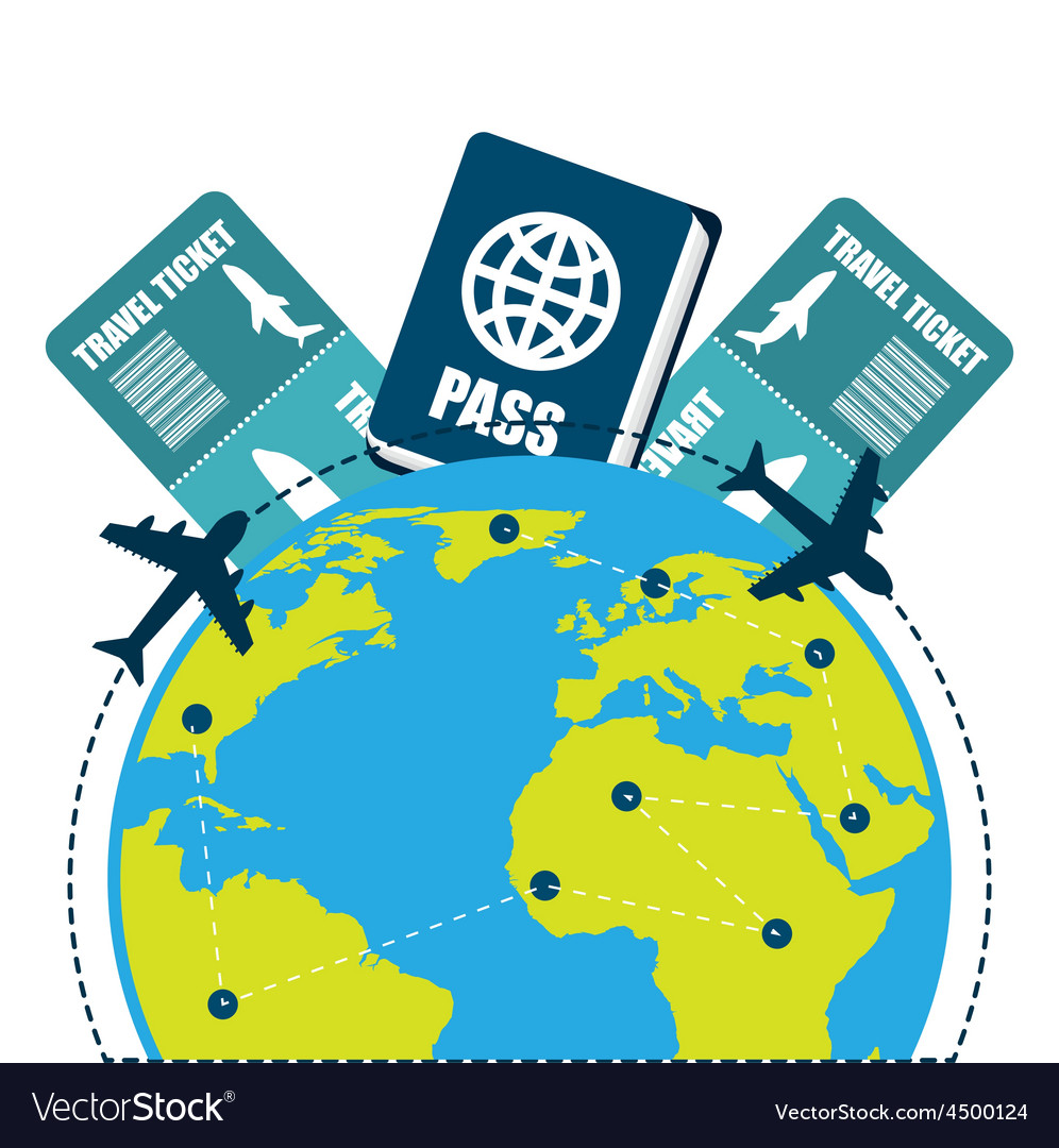 Travel vacations vector   Price: 1 Credit (USD $1)