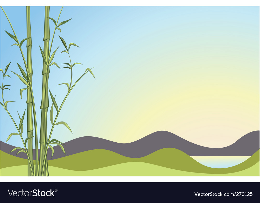 Bamboo background vector   Price: 1 Credit (USD $1)