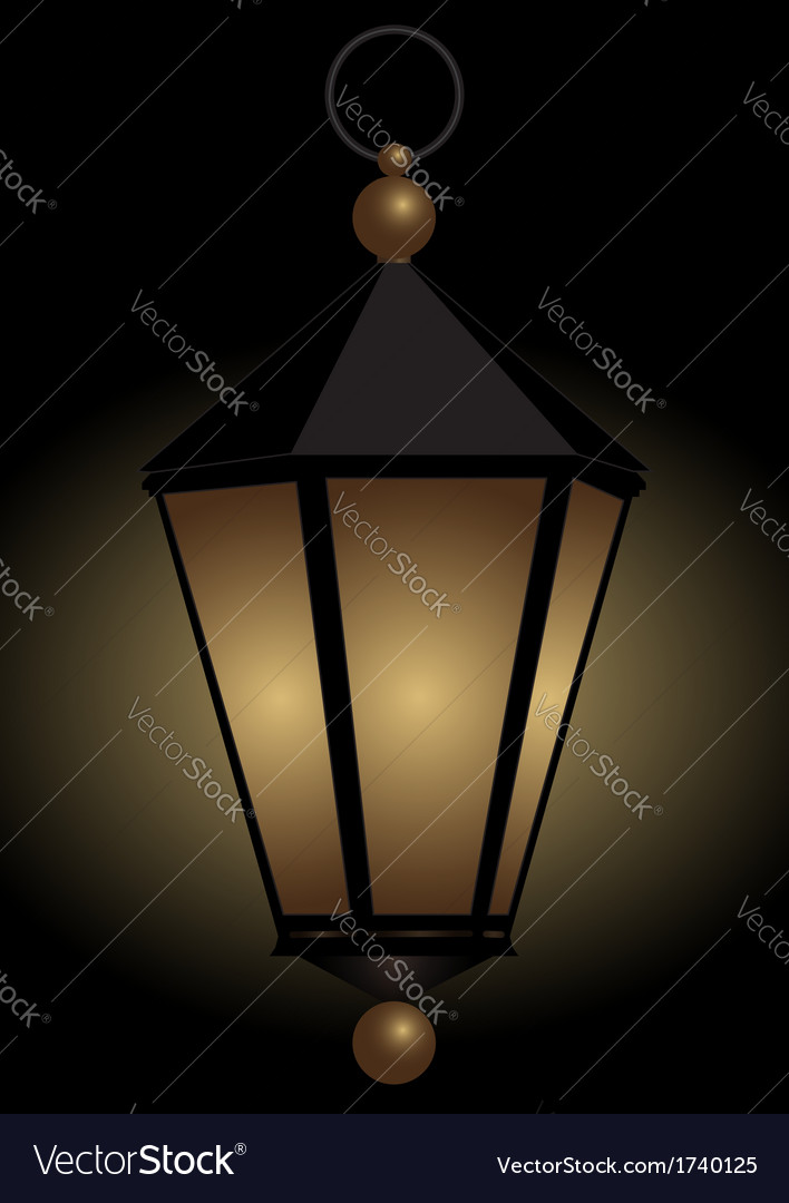 Luminous hand lamp vector | Price: 1 Credit (USD $1)