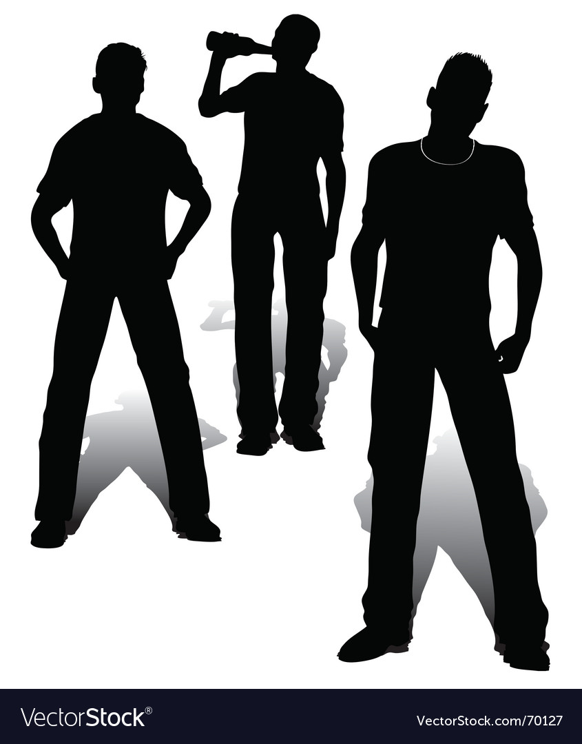 Boys group vector | Price: 1 Credit (USD $1)