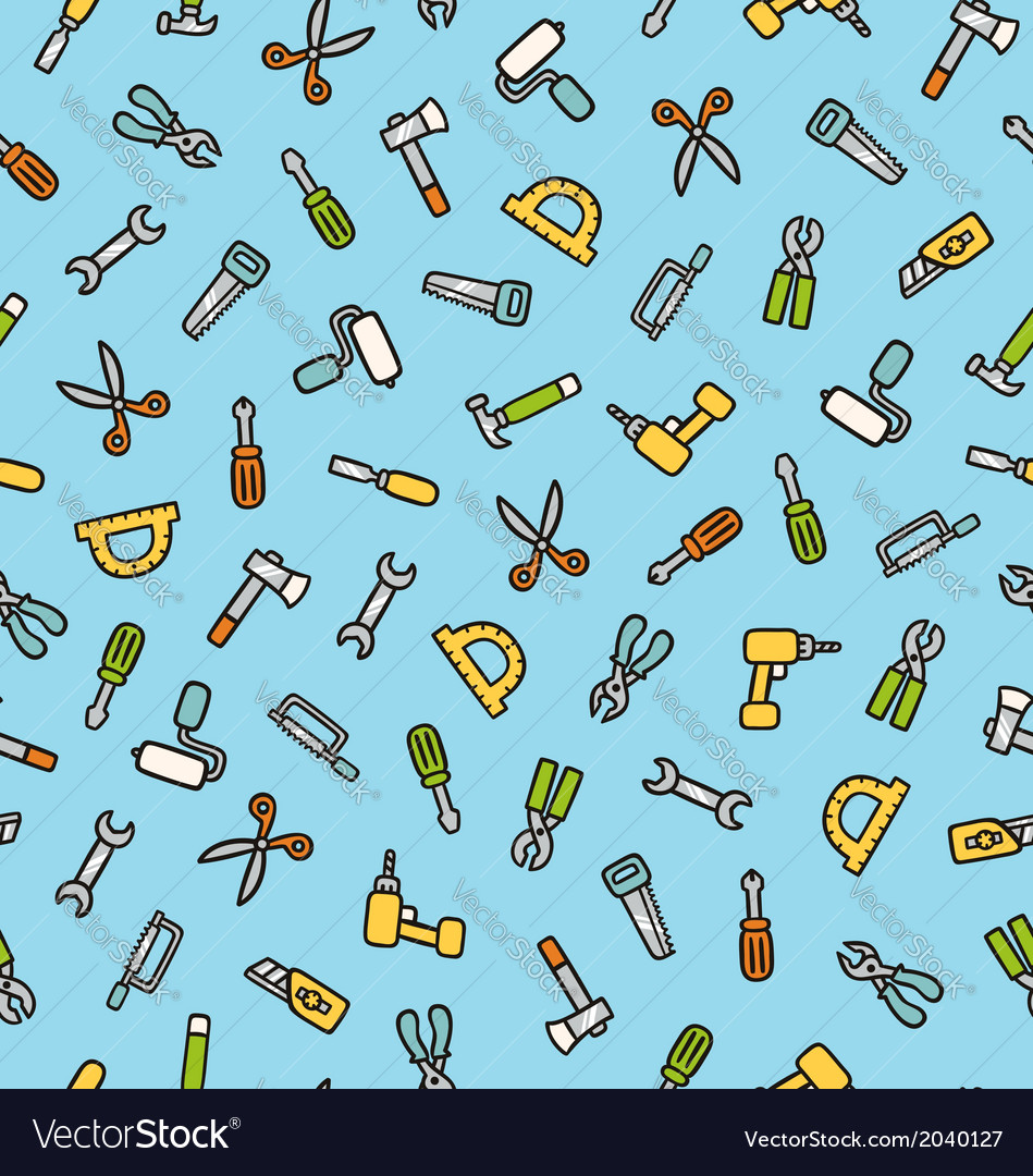 Tools pattern vector | Price: 1 Credit (USD $1)