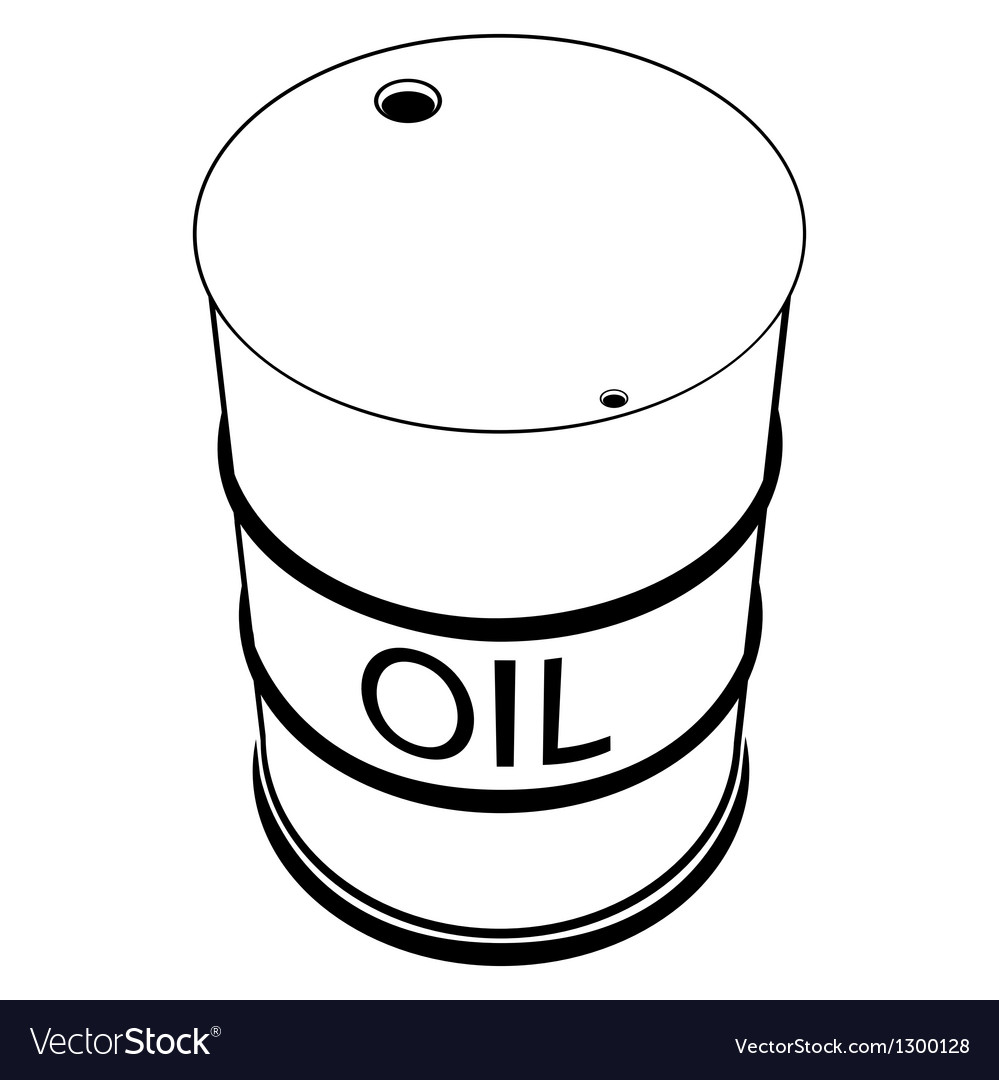 A barrel of oil vector | Price: 1 Credit (USD $1)