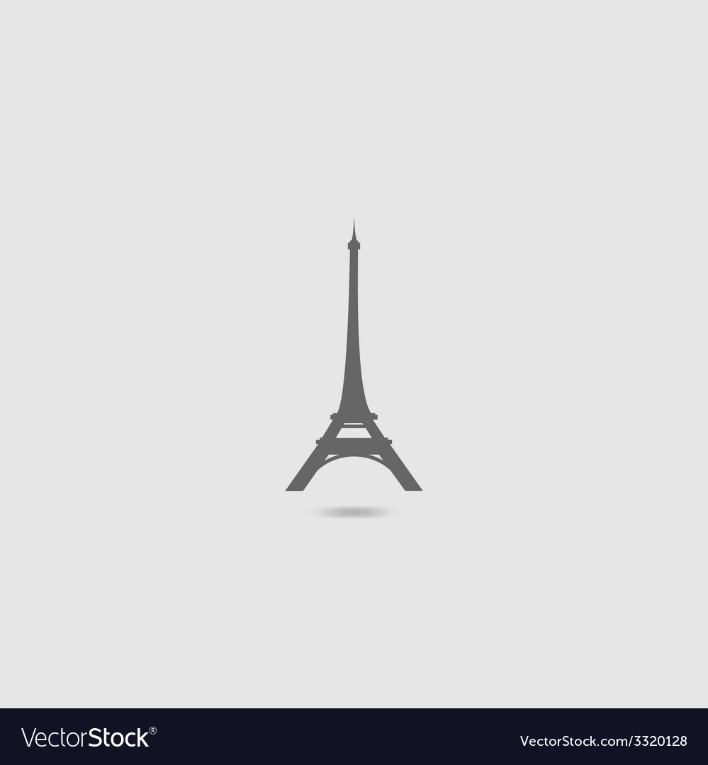 Eiffel tower set vector | Price: 1 Credit (USD $1)