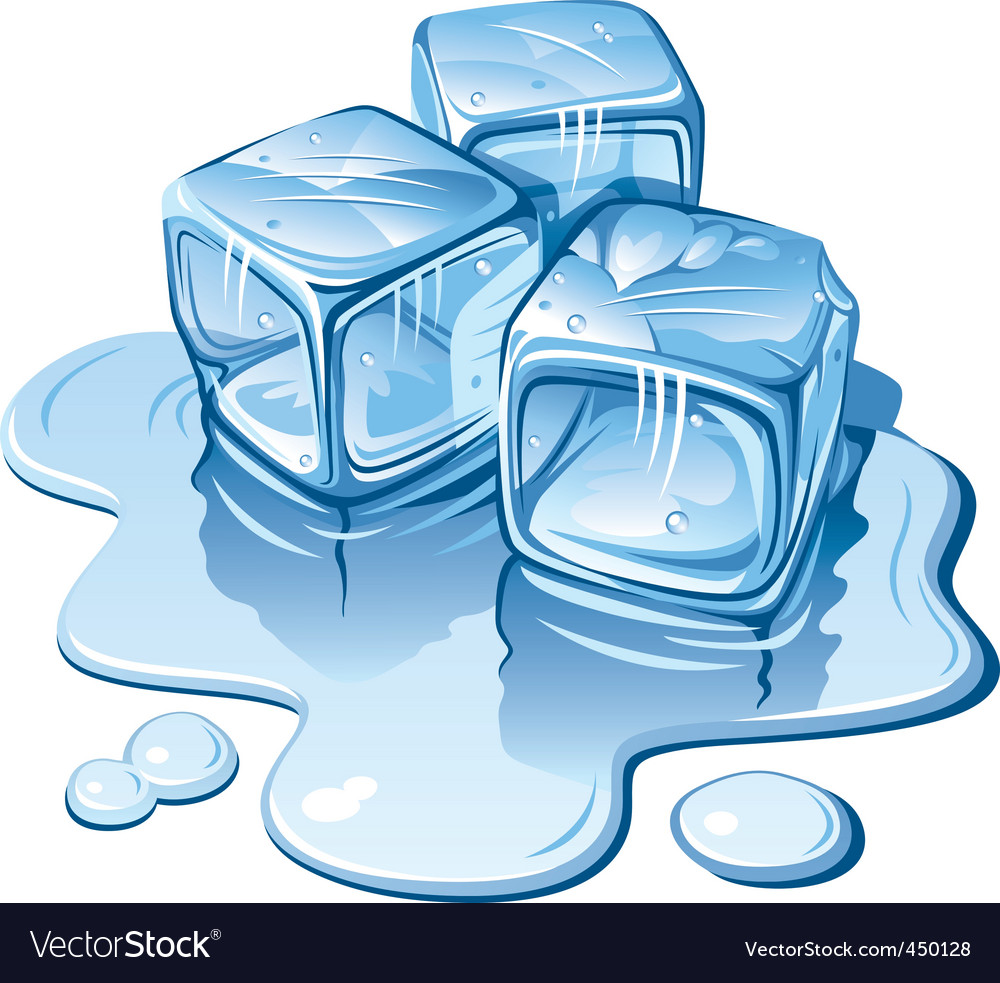 Ice cubes vector | Price: 3 Credit (USD $3)