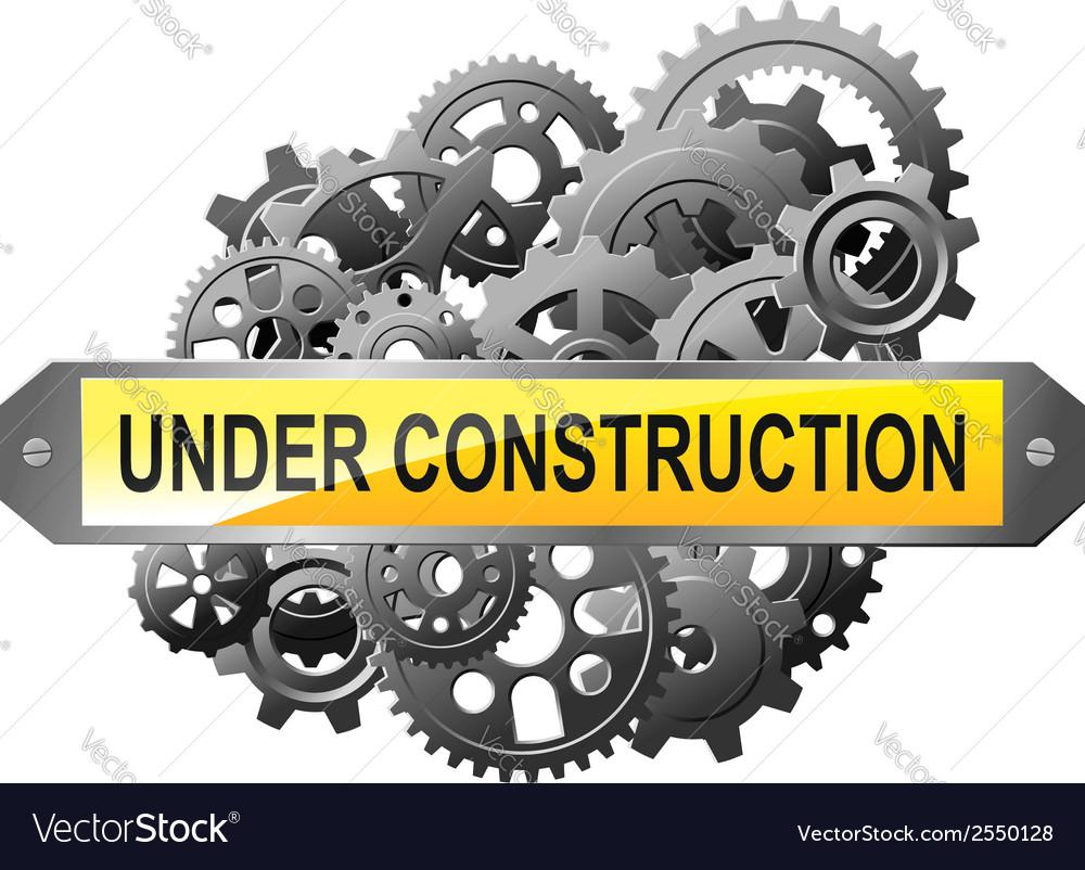 Under construction web page vector | Price: 1 Credit (USD $1)