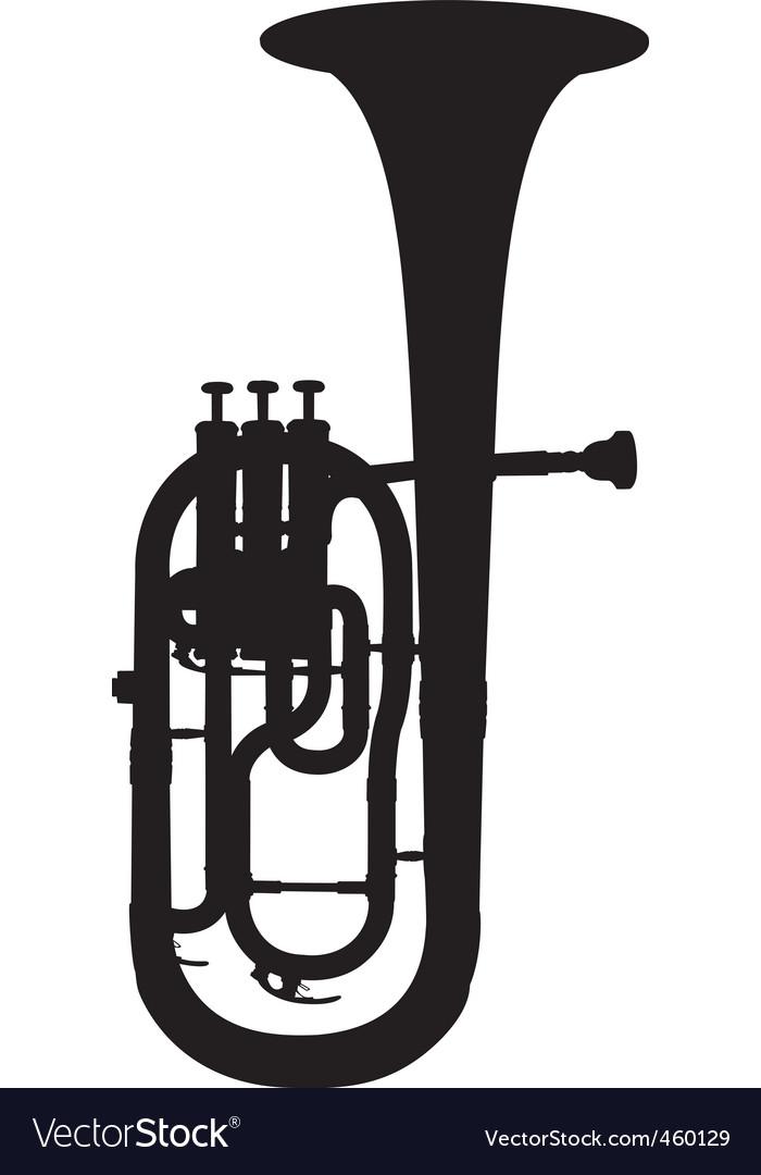 Alto horn vector | Price: 1 Credit (USD $1)