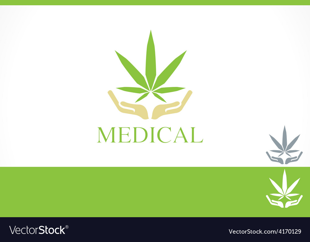 Medical dispensary concept branding design templat vector | Price: 1 Credit (USD $1)