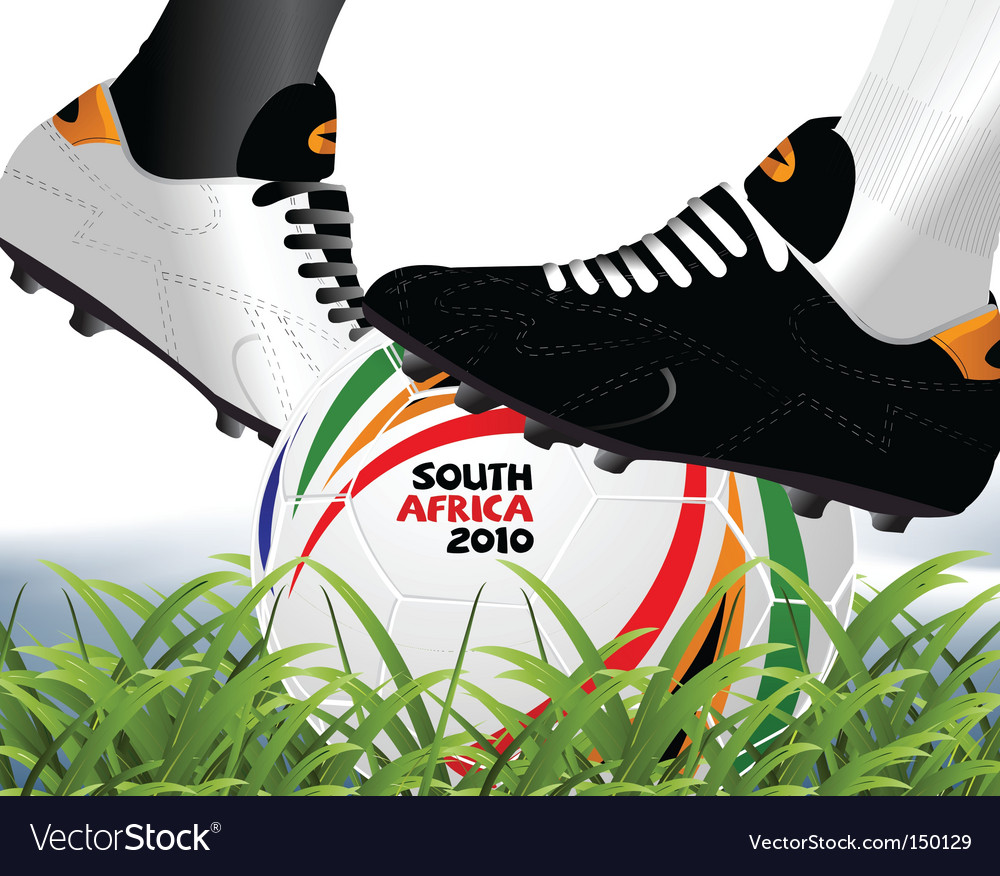 Soccer world cup vector