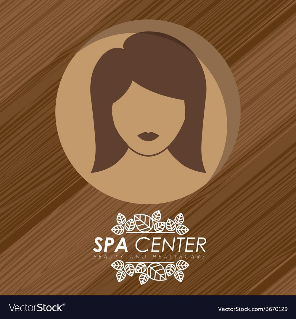 Spa design vector | Price: 1 Credit (USD $1)