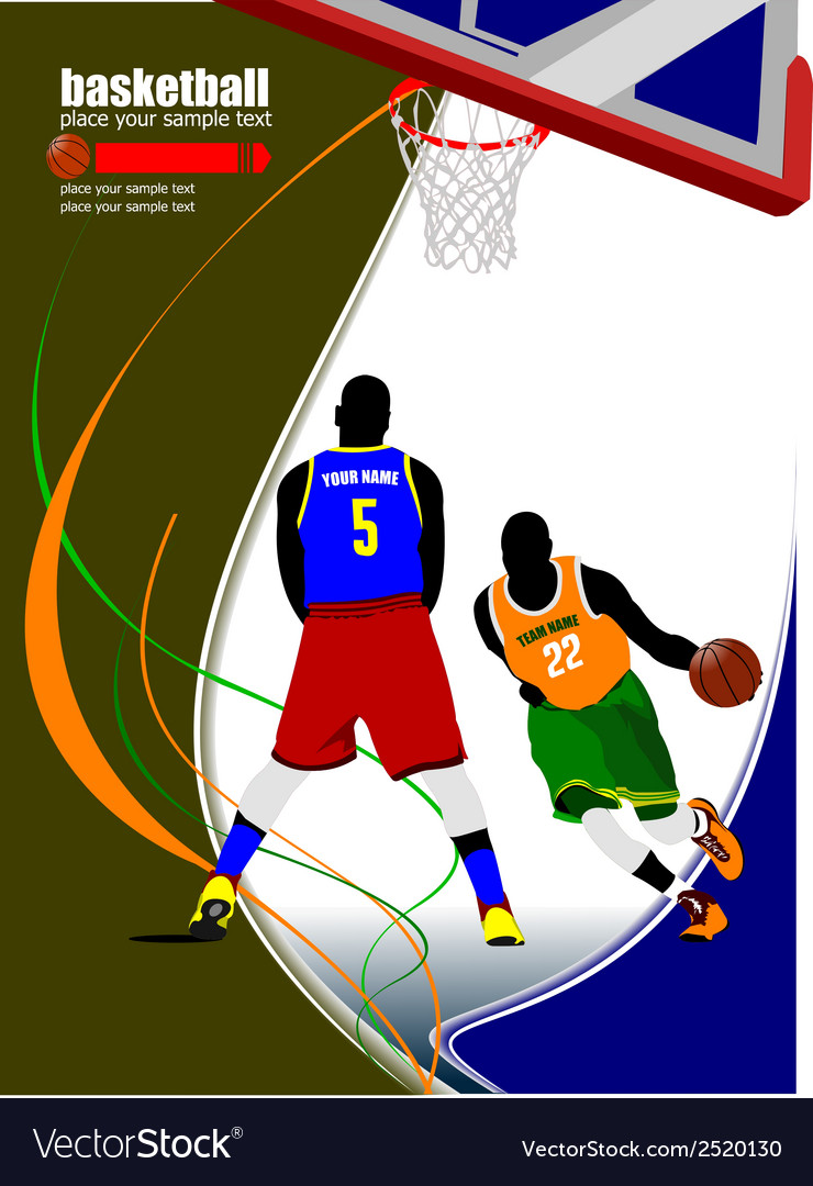 Al 0907 basketball 01 vector | Price: 1 Credit (USD $1)