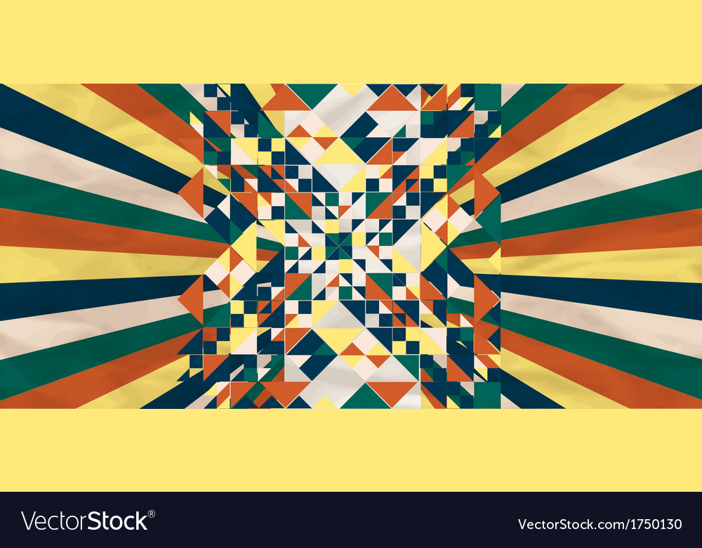 Background with geometric shapes vector | Price: 1 Credit (USD $1)