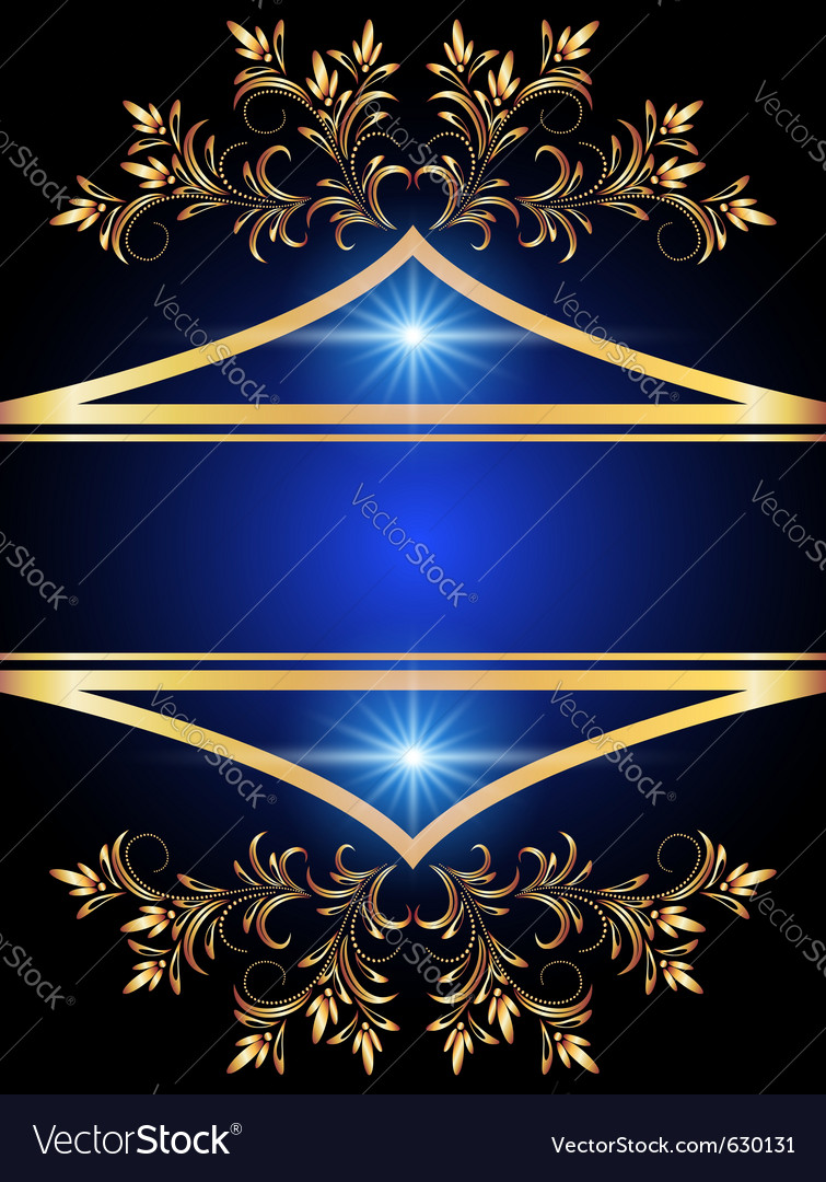 Golden ornament vector   Price: 1 Credit (USD $1)
