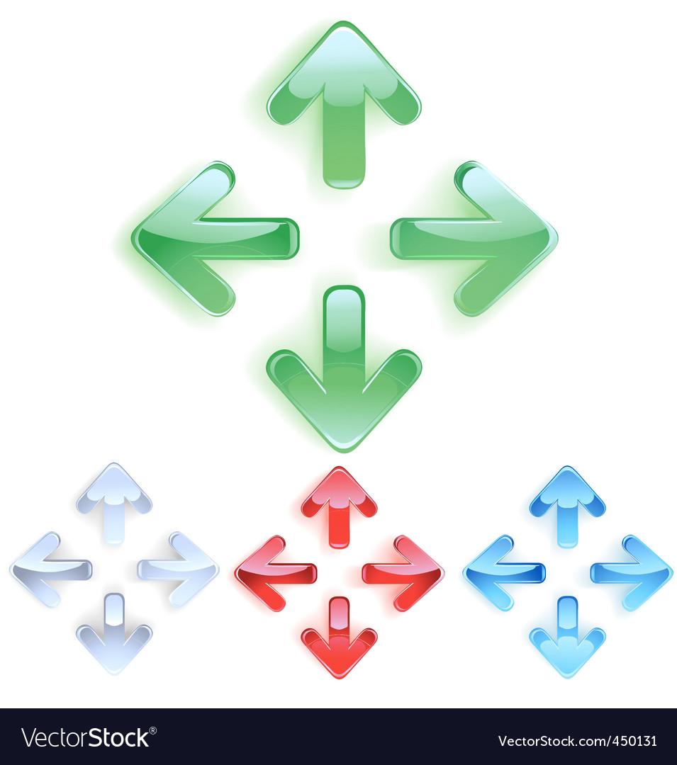 Menu arrows vector | Price: 1 Credit (USD $1)