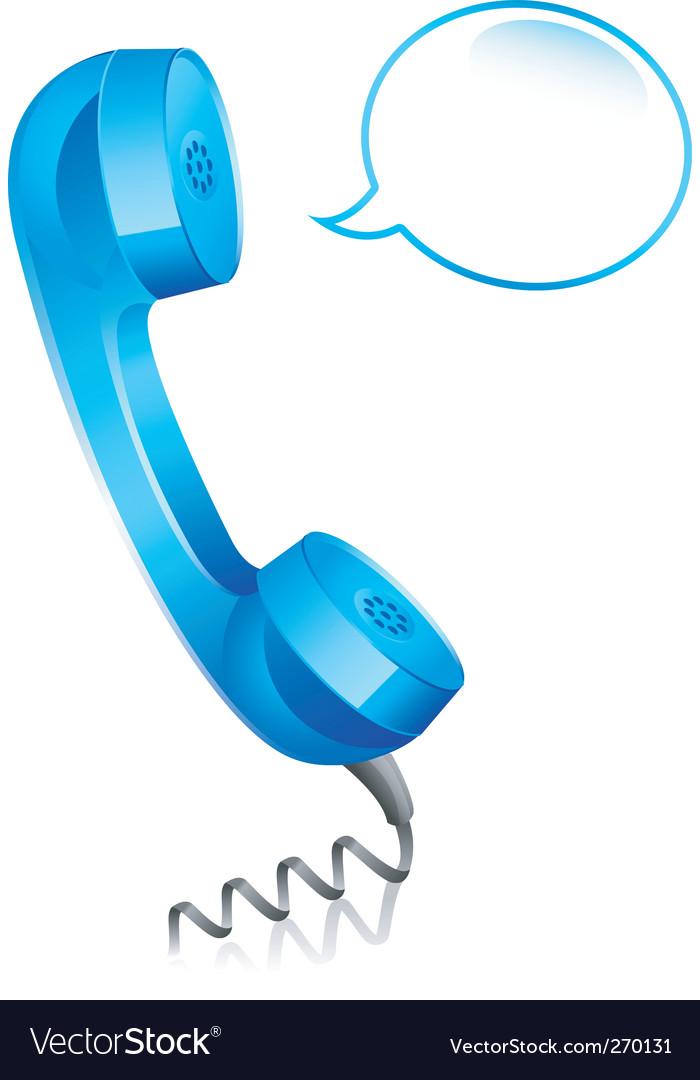 Phone blue vector | Price: 1 Credit (USD $1)
