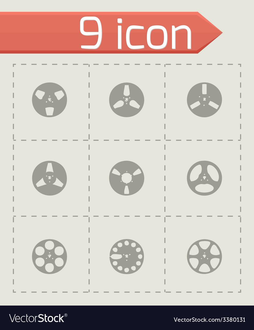 Ribbon icon set vector | Price: 1 Credit (USD $1)
