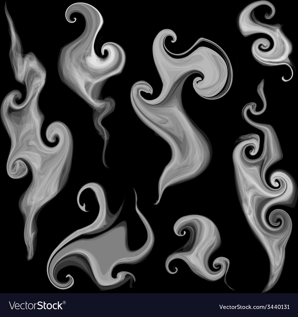 Smoke set vector | Price: 1 Credit (USD $1)